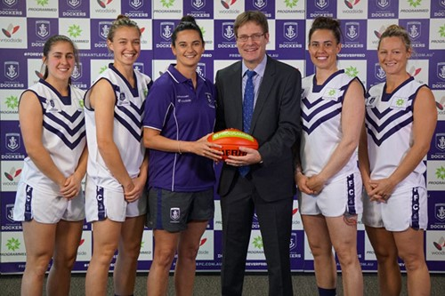 Freo's women's team